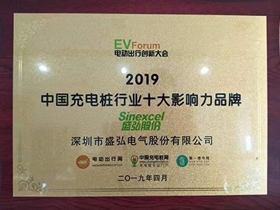 2019中国充电桩行业十大影响品牌