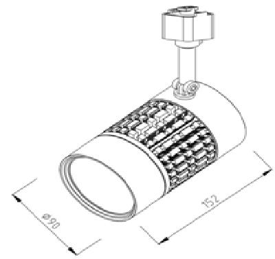 贵阳LED轨道灯系列-HG-L50102