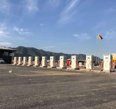 西安兵马俑充电站